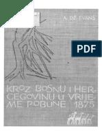 Arthur Evans - Kroz Bosnu i Herecgovinu pješke