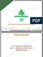 Supertech Eco  Village 3 | Noida Extension