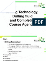 0-Drilling Technology, Drilling Fluid and Completion Course Agenda