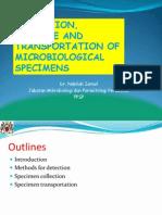 CD W1 02. Microbiological Specimen Collection & Handling