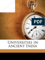 Universities in Ancient India Education and Psychology Extension Series2