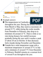 FF Cambodian Canadian Weather With Model Answer