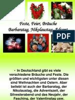 Barbaratag Nikolaustag Advent