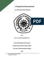 Peran IMF Dalam Krisis Indonesia