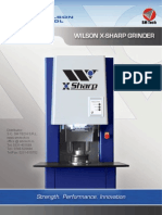Wilson Tool X-Sharp Grinder - new model 2014