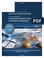 Defense Science Board Report on Nuclear Monitoring and Verification Technologies