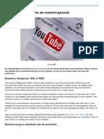 z24.Nl-Zo Gebruik Je YouTube Als Marketingkanaal