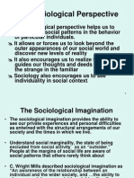 201.02 Developing a Sociological Perspective and Imagination 1