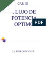 CAP III - FLUJO OPTIMO DE POTENCIA(agregado3).pptx