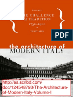 The Architecture of Modern Italy Volume I