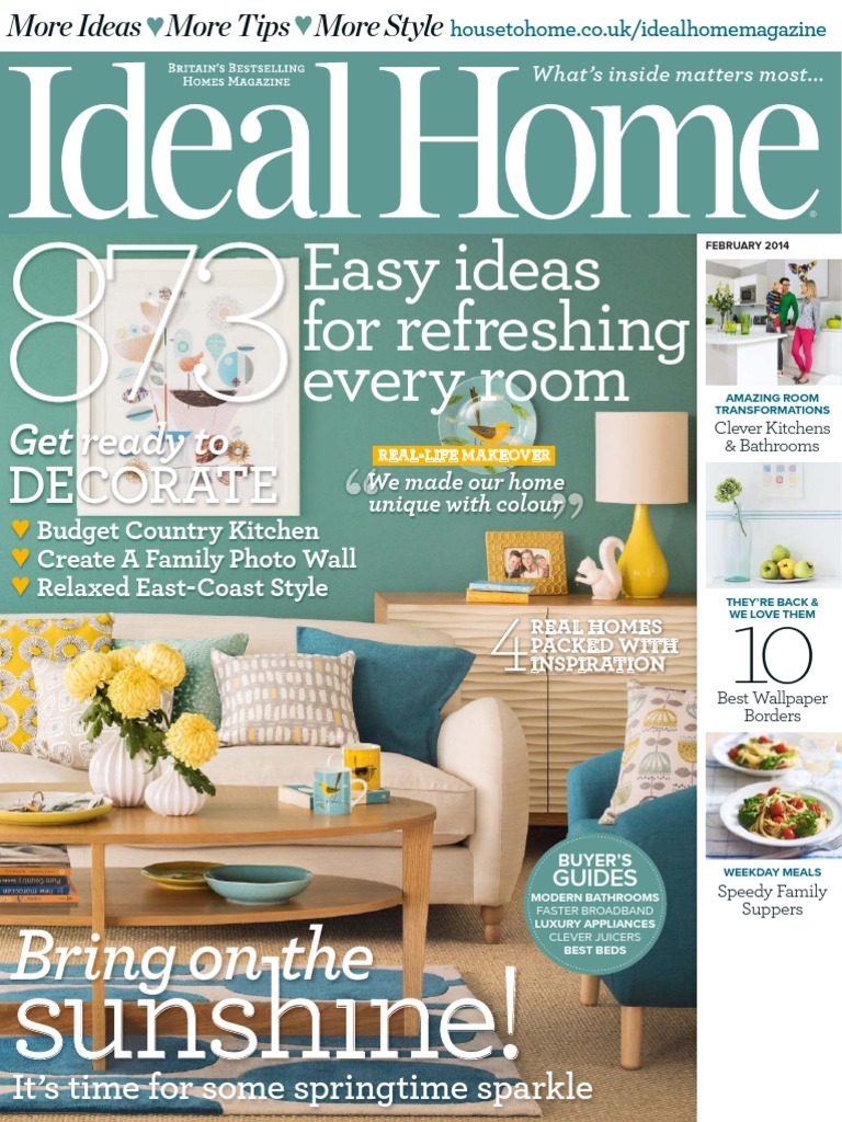 Ideal Home 201402 | Debit Card | Business (General)