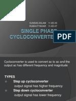 Single Phase Cycloconverter Presentation