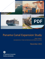 US DOT Panama Canal Expansion Study | November 2013