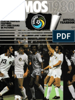 New York Cosmos 1980 Official Yearbook