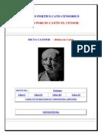Catón, Marco Porcio - Dichos _latín-español