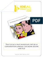 Les Secrets de La Conversation Ideal Seduction eBook Gratuit