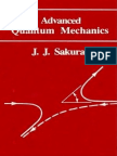 Sakurai, Advanced Quantum Mechanics