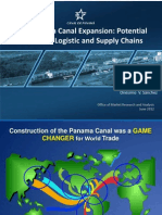 Panama Canal Expansion Impact on Logistic and Supply Chains | June 2012