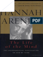 The Life of the Mind HannaArtendt