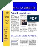 College of West Africa, Alumni Association, Usa