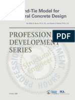 Strut and Tie Design for Concrete