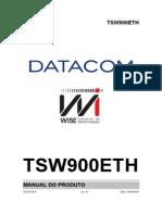 204.0233.01 - TSW900ETH - Manual Do Produto