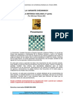 Ajedrez - Defensa Siciliana - Variante Sveshnikov i - Edami