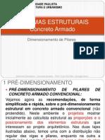 5. Sistemas Estrutarais – Concreto Armado –Principios para Dimensionemto (Pilar)