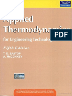 Applied Thermodynamics and Engineering Fifth Edition by t.d Eastop and a. Mcconkey
