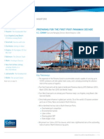 Panama Canal Expansion Impacts to North American Ports | August 2012