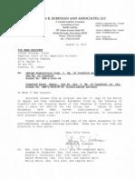 Cranford Appeal Filing Letter 8-2-13