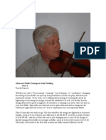 Alternate Fiddle Tunings in Irish Fiddling