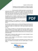 Comunicado Público FEUCN-C respecto a agresión de carabineros a estudiantes de medicina