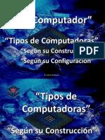 7.3.3 Computador Tipos y Software de Sistema