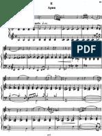 Taktakishvili - Sonata for flute and piano - 2° moviment - piano