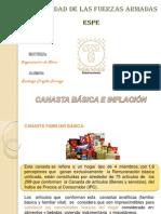 Inflacion y Canasta Familiar