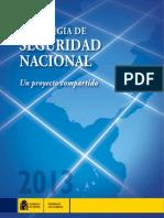 Estrategia Seguridad Nacional 2013