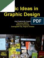 Basic Ideas in Graphic Design Silliman