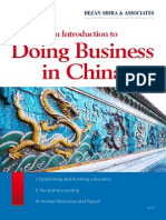 An Introduction to Doing Business in China (1)