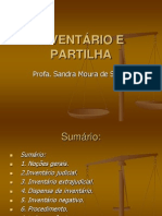 AULA 12 - DO INVENT+üRIO e da PARTILHA