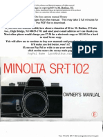 Minolta SR-T 102