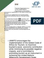 United Nation World Tourism Organization(UNWTO)