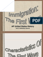Immigration First Wave Presentation