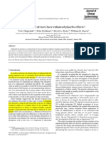 Do Medical Devices Have Enhanced Placebo Effects