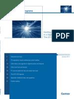 Gartner - 2013 CIO Agenda Report