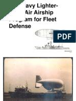 LTA Aiships U.S. Navy