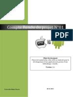 Compte Rendu S1 Groupe Andoid 28-11-2013