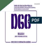 Biologia II Programa