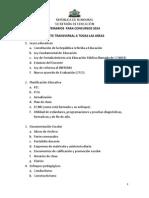Temarios Para Concurso Docente 2014
