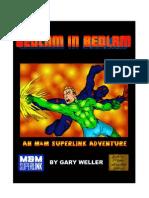 Bedlam in Bedlam - Bookmarked